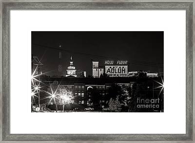 Columbia Skyline Framed Print