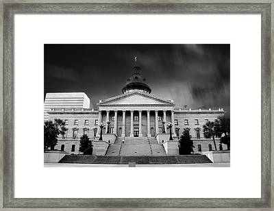 Columbia South Carolina State House Framed Print