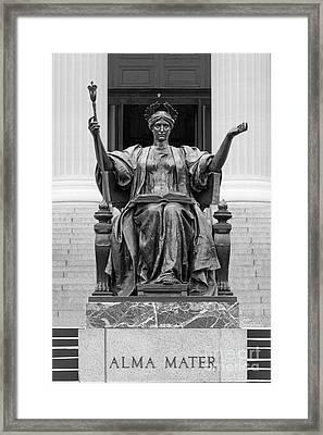 Columbia University Alma Mater Framed Print