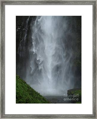 Columbiagorge01 Framed Print