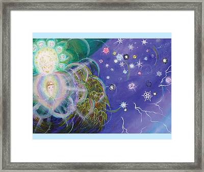 Columbia's Amazing Dream Page 22 Framed Print