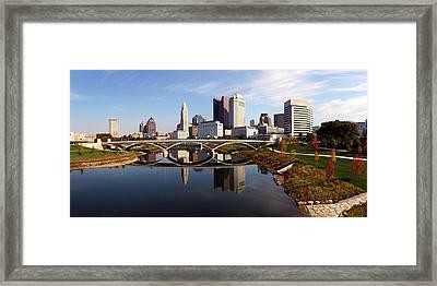 Columbus Fall Framed Print by David Yunker