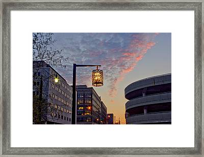 Columbus Morning 30 Framed Print