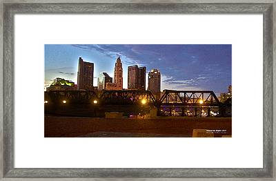 Columbus Night 1517 Framed Print