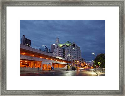 Columbus Night 50145 Framed Print