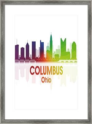Columbus Oh 1 Vertical Framed Print