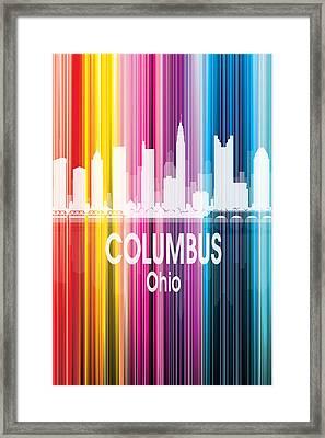 Columbus Oh 2 Vertical Framed Print