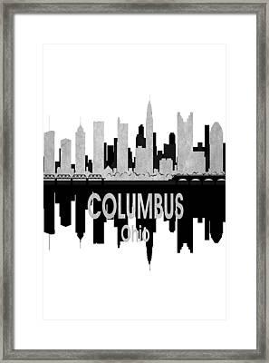 Columbus Oh 4 Vertical Framed Print