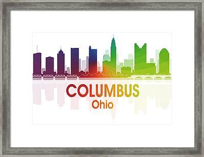 Columbus Oh  Framed Print
