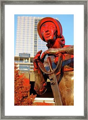 Columbus Framed Print by Samantha Kimble