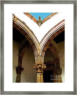 Column And Arch Framed Print