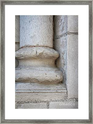 Column Plinth Framed Print