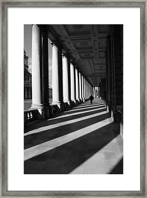 Columnist Framed Print