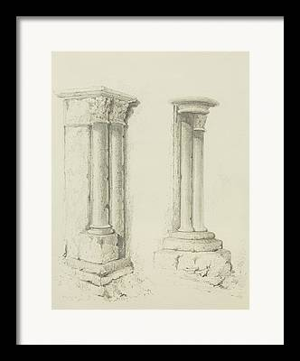 Structural Features Framed Prints