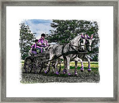 Combined Driving Framed Print by Janice OConnor