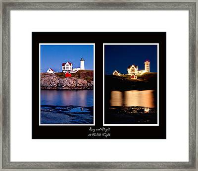Combined Nubble Framed Print by Greg Fortier