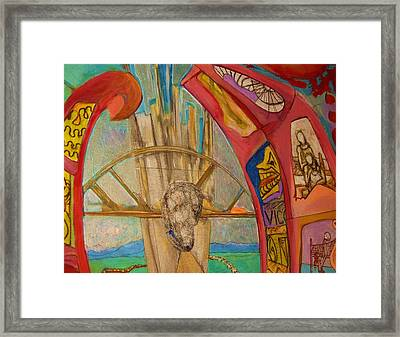 Combustion Tunnel  Framed Print by Lee Plate