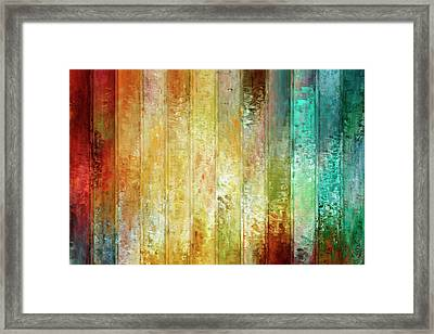 Framed Print featuring the mixed media Come A Little Closer - Abstract Art by Jaison Cianelli