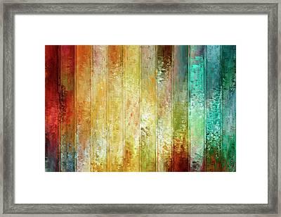 Come A Little Closer - Abstract Art Framed Print