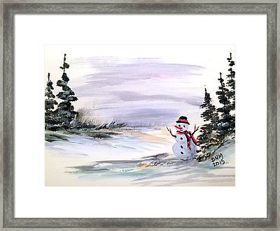 Come And Play With Me Framed Print by Dorothy Maier