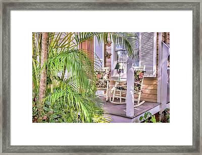 Come And Sit Awhile Framed Print