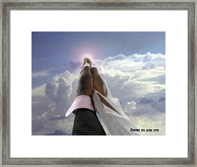 Come As You Are Framed Print by Reggie Duffie