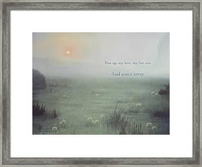 Come Away  Framed Print
