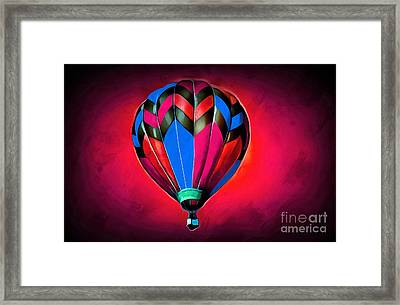 Come Away With Me IIi Framed Print by Krissy Katsimbras