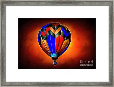 Come Away With Me Framed Print by Krissy Katsimbras