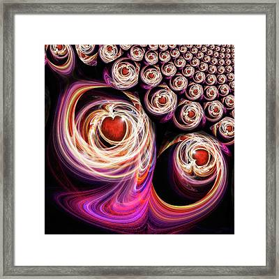 Come Be With Me And Be My Love Framed Print by Michael Durst