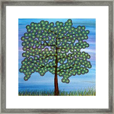 Come Climb My Branches Framed Print