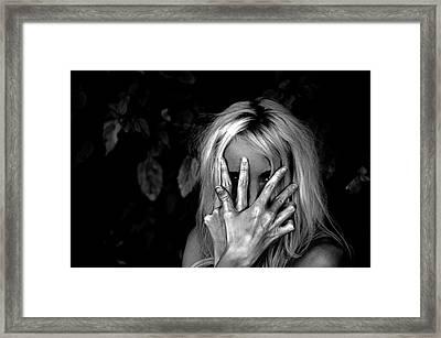 Come Find Me Framed Print by  Kelly Hayner