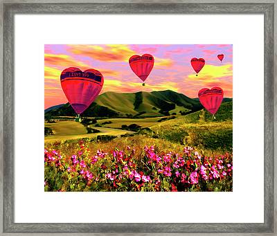 Come Fly With Me Framed Print by Kurt Van Wagner
