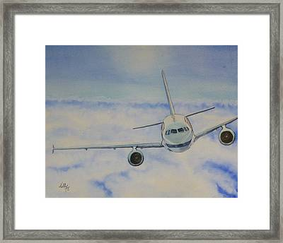 Come Fly With Me.... Plane Framed Print