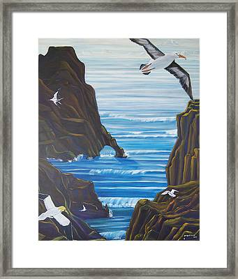 Come Fly With Us Framed Print by George Chacon