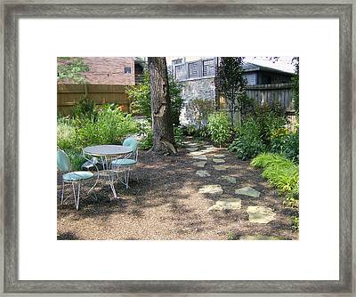Framed Print featuring the photograph Come Further Into The Backyard by Skyler Tipton