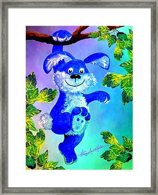 Come Hang With Me Framed Print by Hanne Lore Koehler