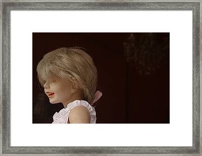 Come Here My Little One  Framed Print by Jez C Self