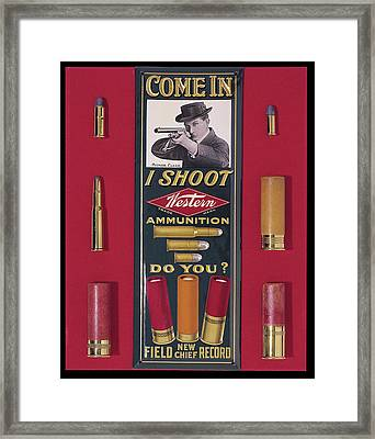 Come In Framed Print
