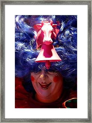 Come Into My Parlour Framed Print by Jez C Self