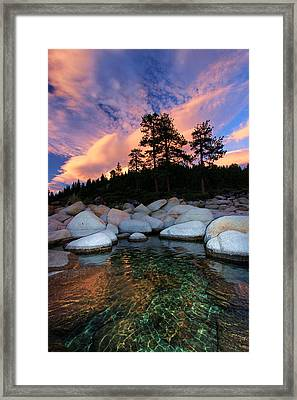 Come Into My World Framed Print