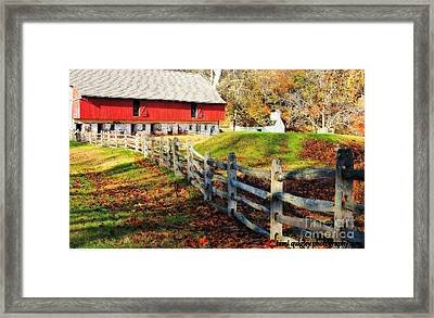 Come October Framed Print