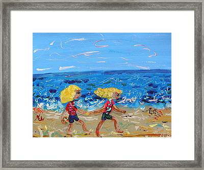 Come On Along Now Framed Print by Mary Carol Williams