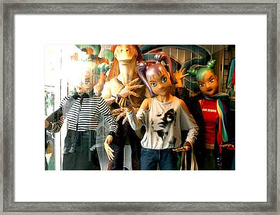 Come On In And Party Framed Print by Jez C Self