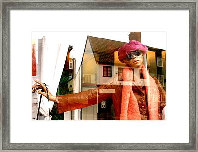 Come On Into My World Framed Print by Jez C Self
