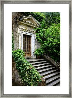 Framed Print featuring the photograph Come On Up To The House by Marco Oliveira