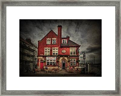 Come Out And Play Framed Print by Evelina Kremsdorf