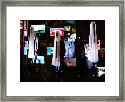 Come Play The American Dream  Framed Print