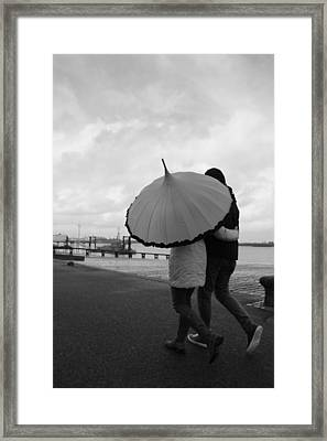 Come Rain Or Shine Framed Print