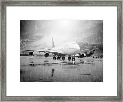 Come Rain Or Shine Framed Print by Malena Fryar